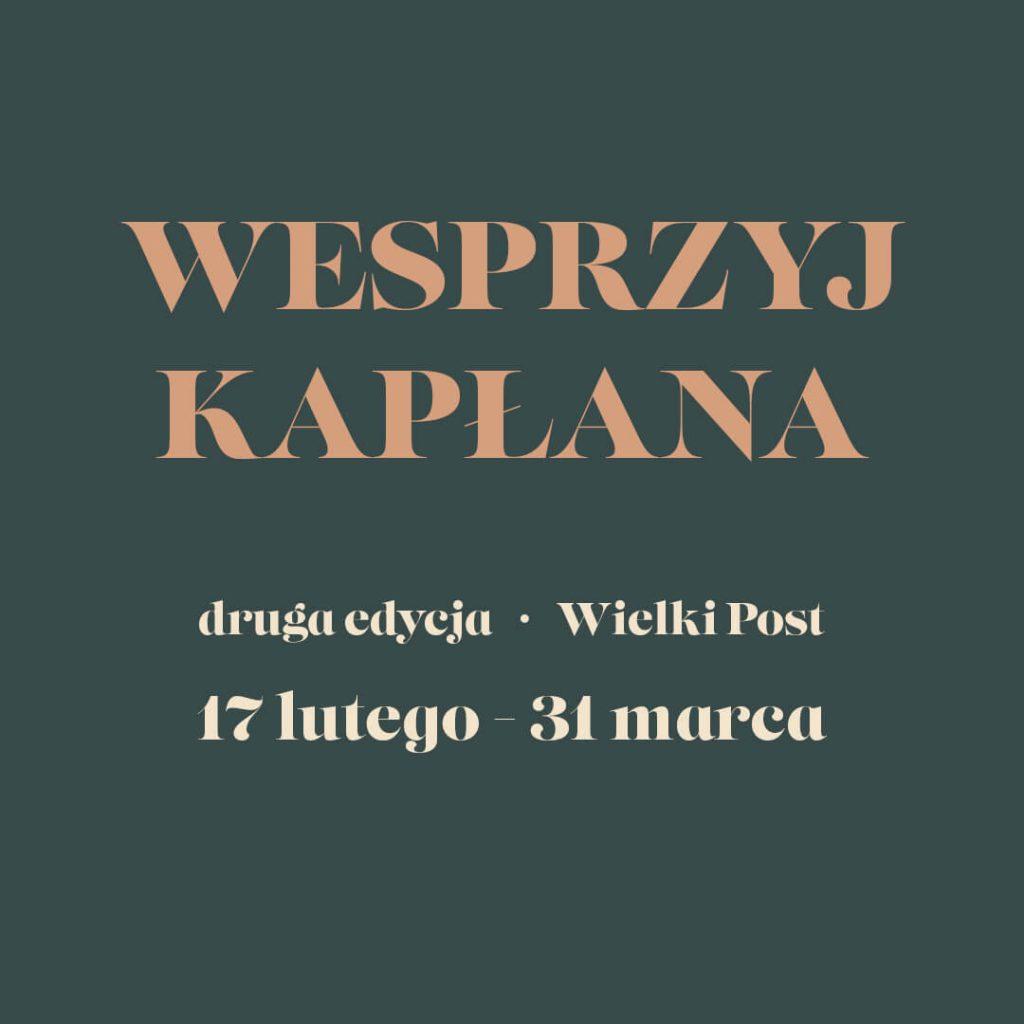Wesprzyj Kapłana - druga edycja